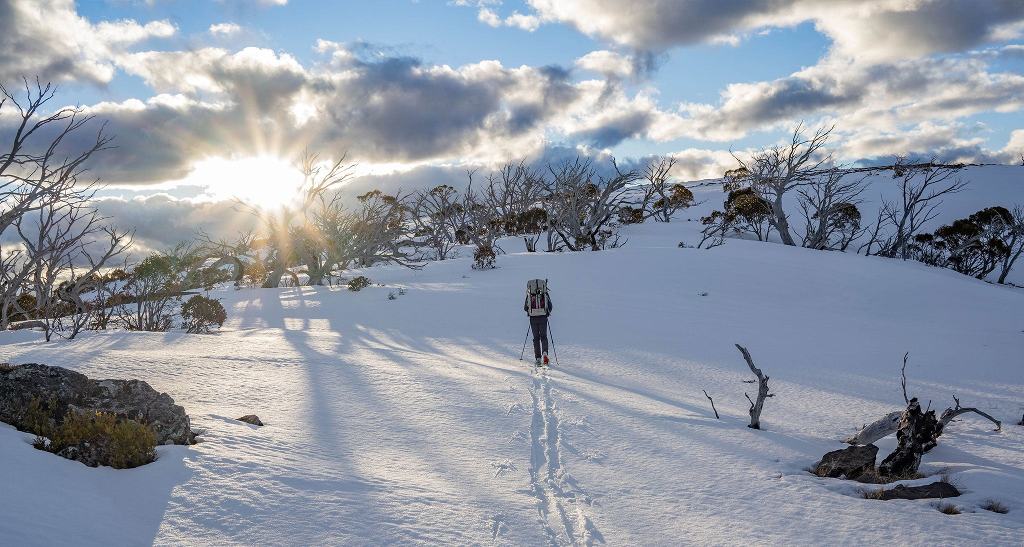 Traversing The Australian Alps Walking Track in Winter With The Oates