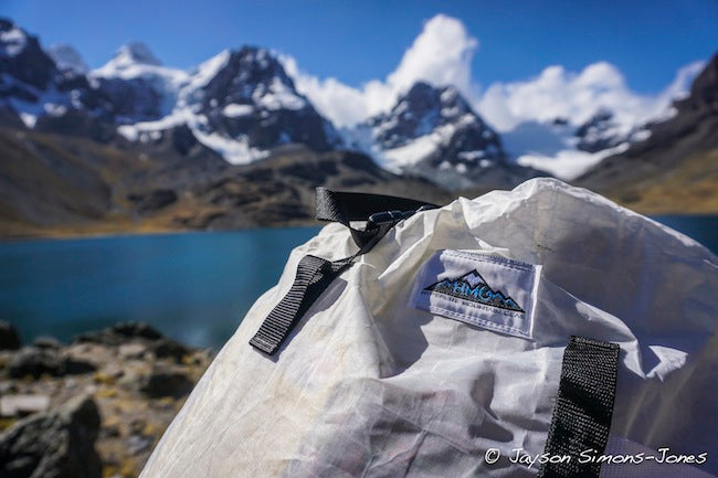 Jayson Simons-Jones reviews his Ice Pack while guiding in Bolivia.
