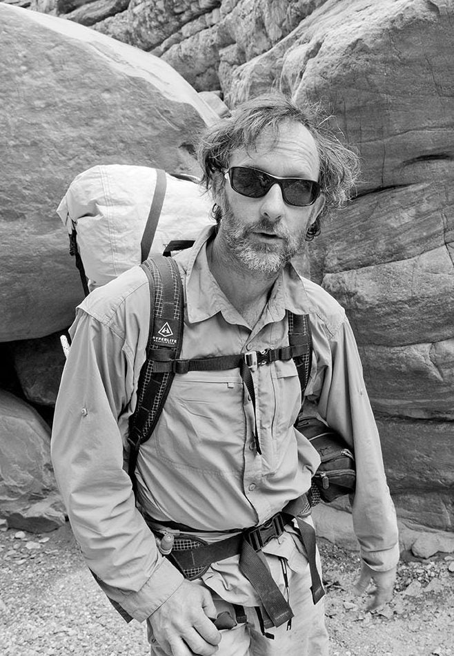Author, mapmaker and adventurer, Clay Wadman.