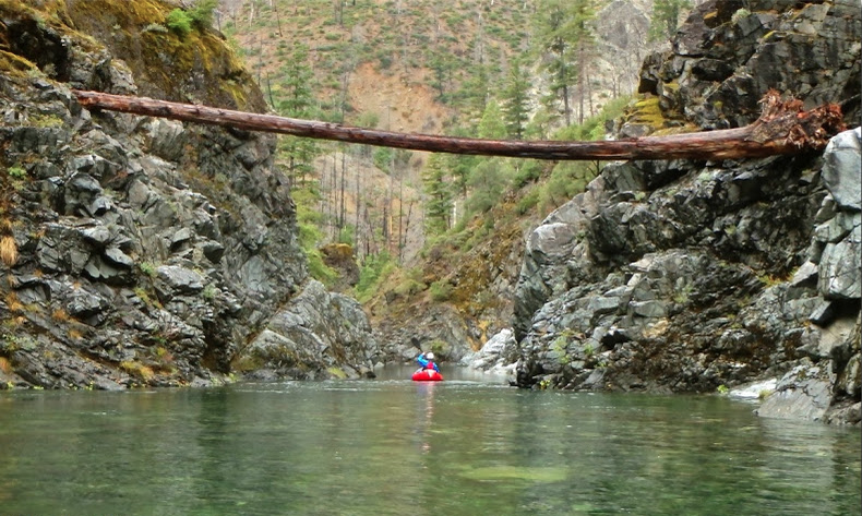 Mike Curiak Packrafting the Chetco River