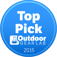 OutdoorGearLab Top Pick award