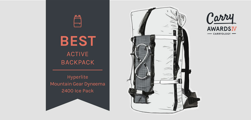 Carryology's Best Active Backpack Award