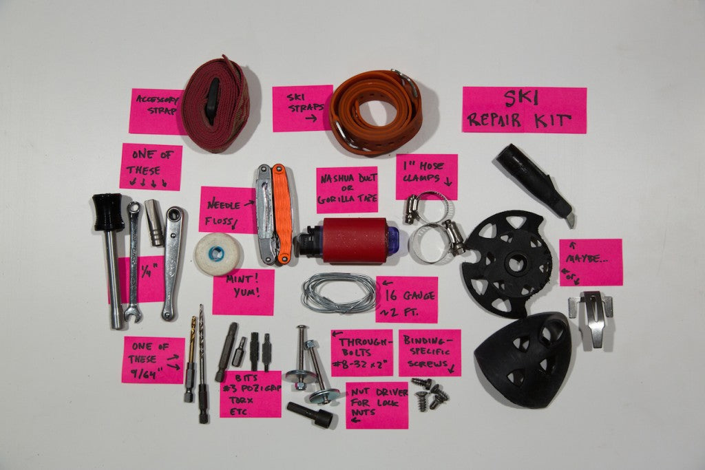 Luc Mehl's Ski Repair Kit