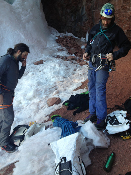 Telluride, Co – Cornett Falls in Fat Conditions WI 4