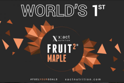 FRUIT 2 MAPLE: THE WORLD'S FIRST MAPLE SYRUP ENERGY BAR LAUNCHED