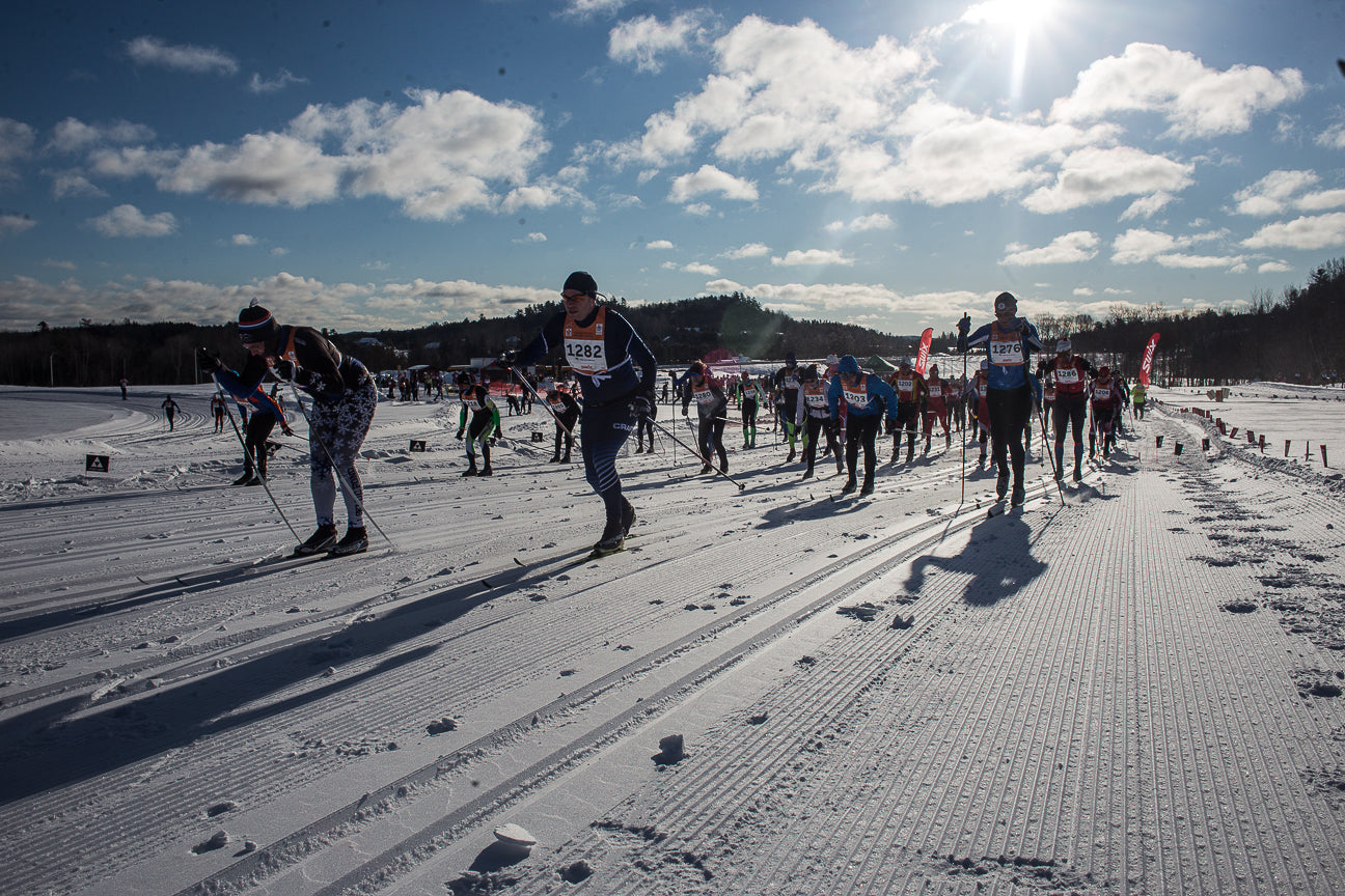 Long Distance Cross Country Ski Racing - The Gatineau Loppet
