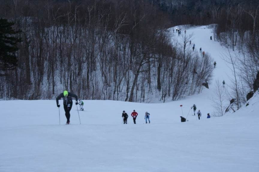TRAIL DES NEIGES, ORFORD (QC) AND SKIMOEAST.COM LAUNCHES
