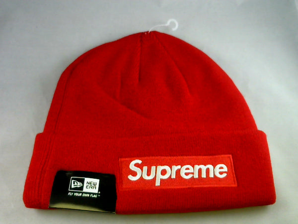 Supreme World Famous Beanie New Era Red – RightChoiceMarket 303bde3c670