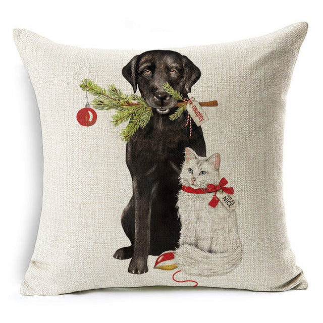 Christmas Pillow Model: C