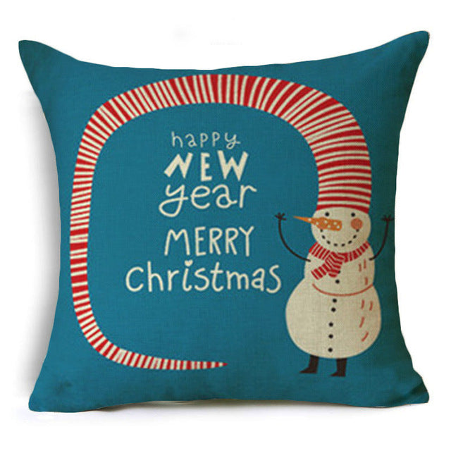 Cushion Cover Merry Christmas! Model: S