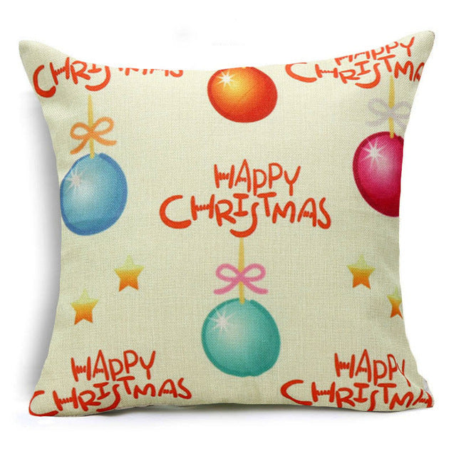 Cushion Cover Merry Christmas! Model: A