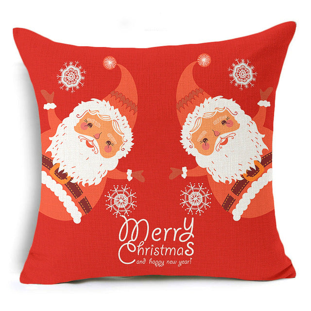 Cushion Cover Merry Christmas! Model: B