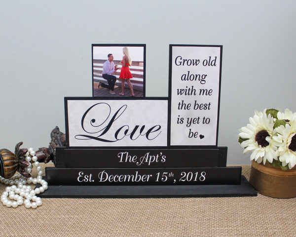 Grow old with me the best is yet to come wedding gift idea