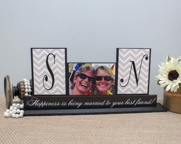 Personalized Wedding Anniversary Gift for Couple