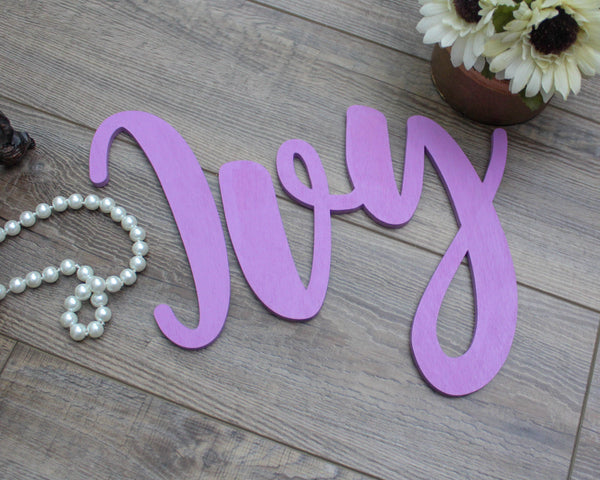 Nursery Name Wooden Letters