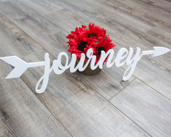 Journey Arrow Sign