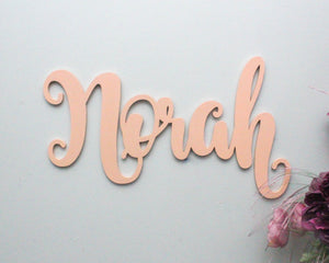 Wooden Letters for Wall Decor