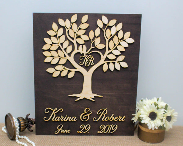 Wedding Tree Alternative Guestbook