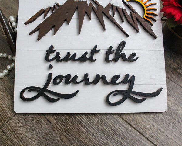 Trust The Journey  | Wall Art Decor