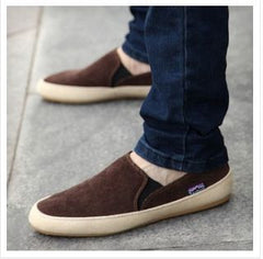 Fashion Men's Breathable Canvas Casual Shoes Moccasin