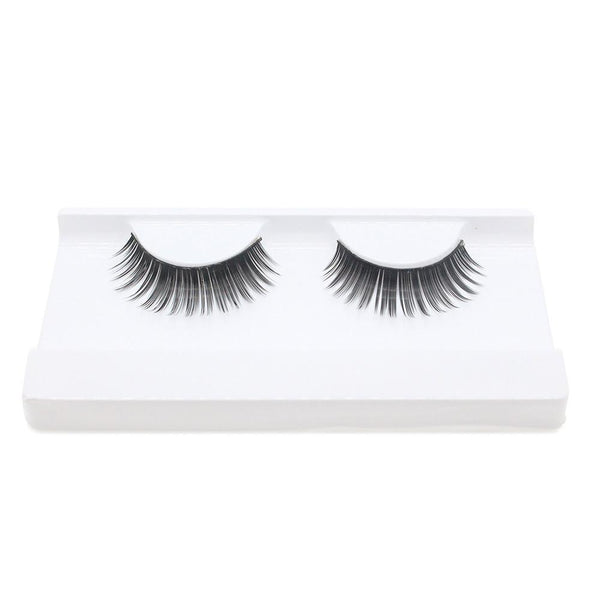 1 Pair! New Black Eyelashes Cross Thick False Eye Lashes Extension Makeup