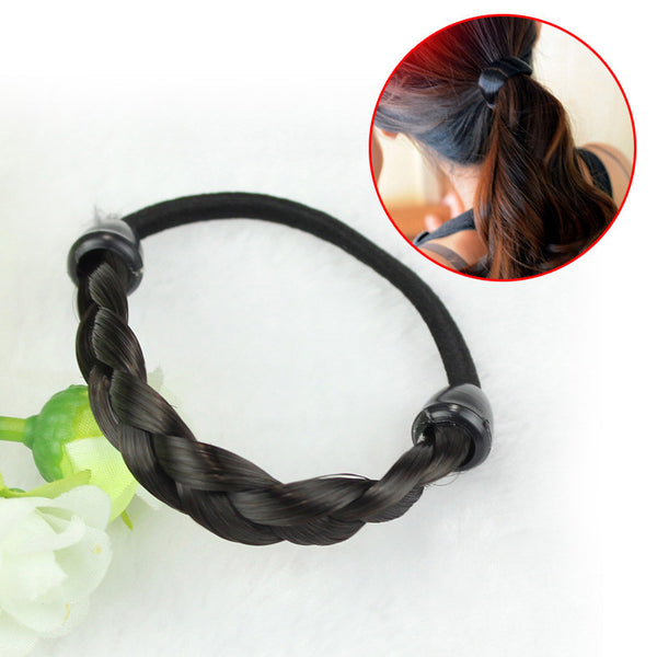 Simple Style Women Girls hairband Fashion Women Elasticity Refinement Wig Hair Band Stretch Head Hair womens solid hair bands