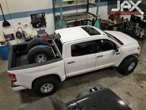 Prerunner Tundra with full Camburg Long travel, a=with Icon and Fox shocks