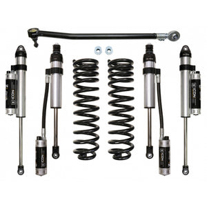 "Ford F250/F350 4x4 Icon 2.5"" Stage 4 Suspension System"