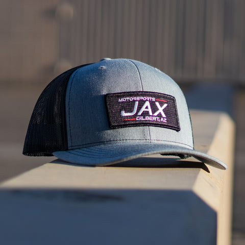 JAX Snap back hat Grey/ Black