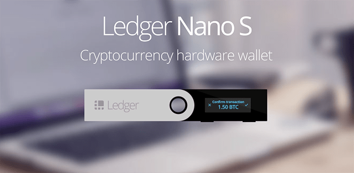 Ledger Nano S interface first look