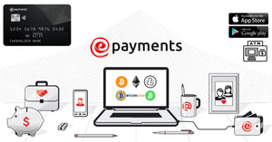 ePayments - Your New CryptoCurrency Debit Card