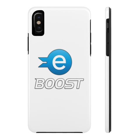 eBoost iPhone White Case - CryptoANTEG.com