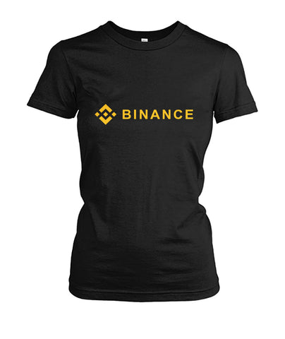 Binance Women T-Shirt - CryptoANTEG.com