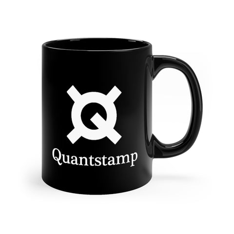 Quantstamp Black Coffee Mug - CryptoANTEG.com