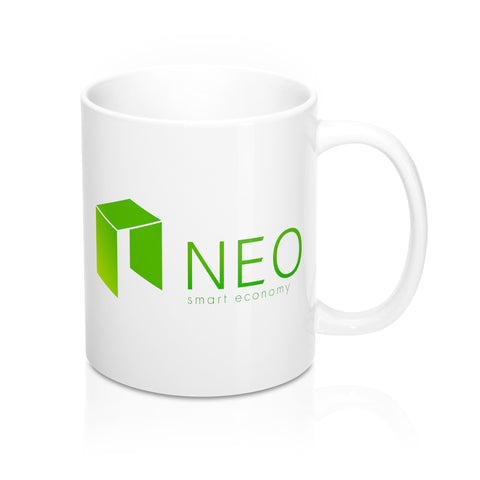 NEO Smart Economy Coffee Mug - CryptoANTEG.com