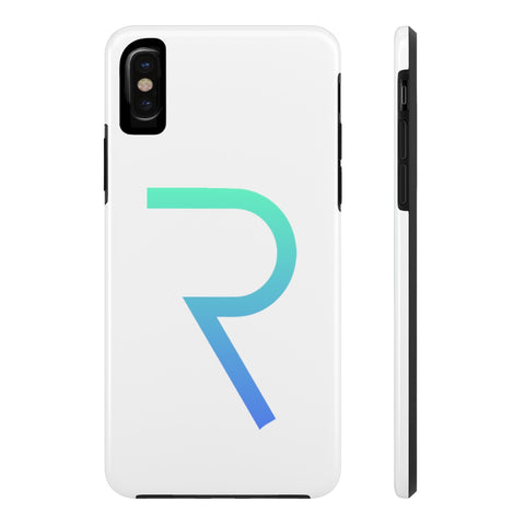 Request Network White iPhone Case - CryptoANTEG.com