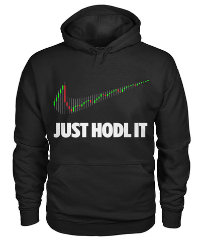 JUST HODL IT Hoodie - CryptoANTEG.com