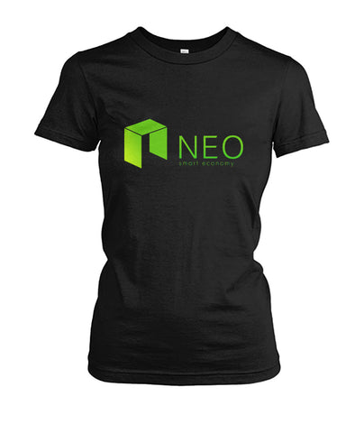 NEO Smart Economy Women T-Shirt - CryptoANTEG.com