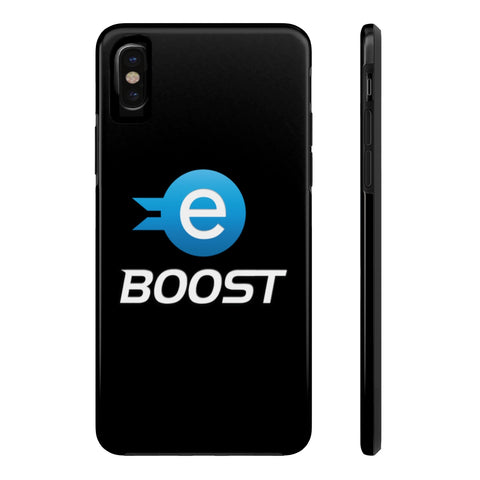 eBoost iPhone Black Case - CryptoANTEG.com