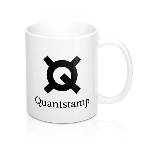 Quantstamp White Coffee Mug - CryptoANTEG.com