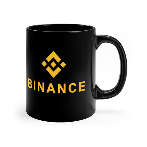 Binance Black Coffee Mug - CryptoANTEG.com