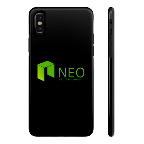 NEO Smart Economy iPhone Case - CryptoANTEG.com