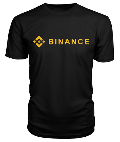 Binance T-Shirt - CryptoANTEG.com