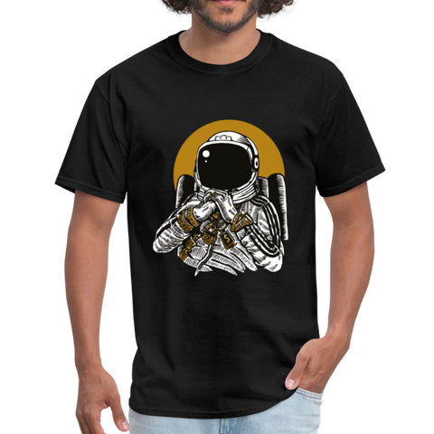 Space Music T-Shirt - black