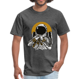 Space Music T-Shirt - heather black