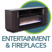 Shop for Entertainment furniture and fireplaces