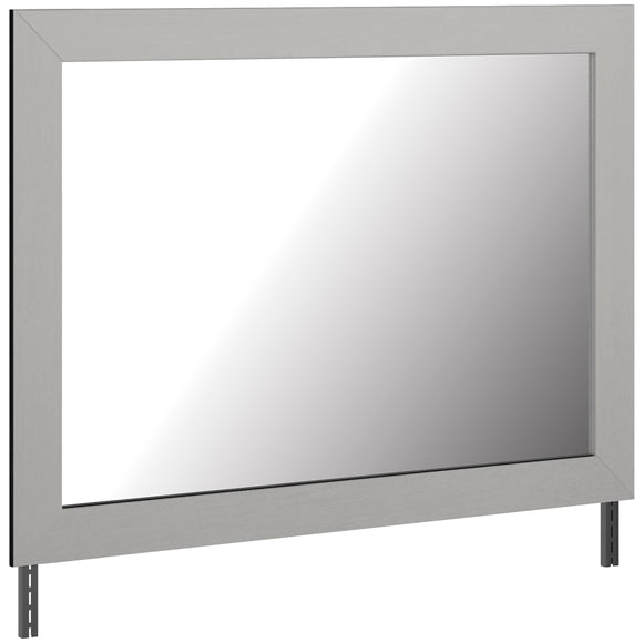 Cottenburg Bedroom Mirror - Light Grey/White