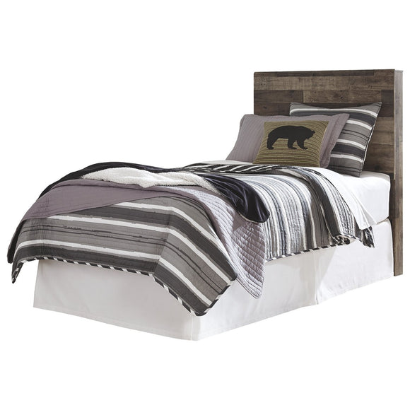 Derekson Twin Bed - Multi-Grey
