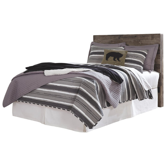 Derekson Full Bed - Multi-Grey