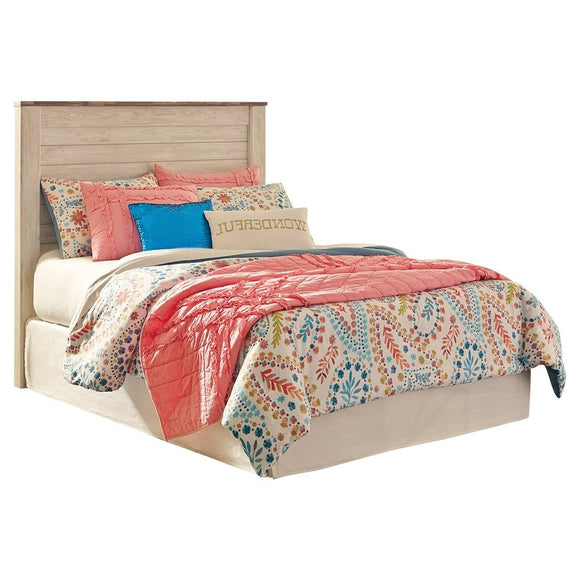 Willowton Full Bolt on Bed - Whitewash